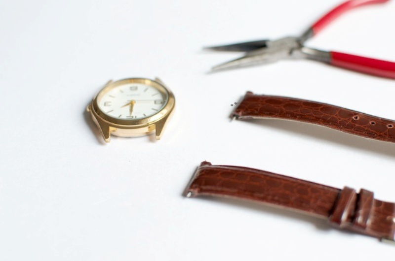 Picture Of stylish diy chain strap watch  3
