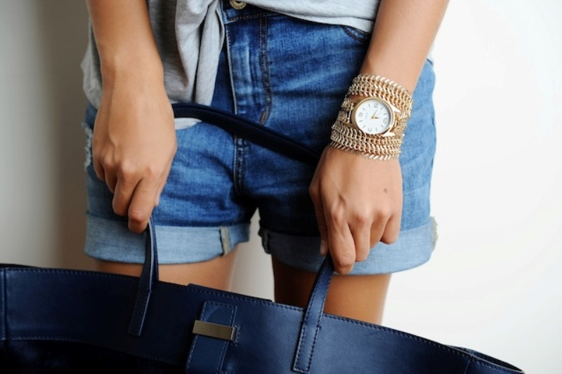 Picture Of stylish diy chain strap watch  9