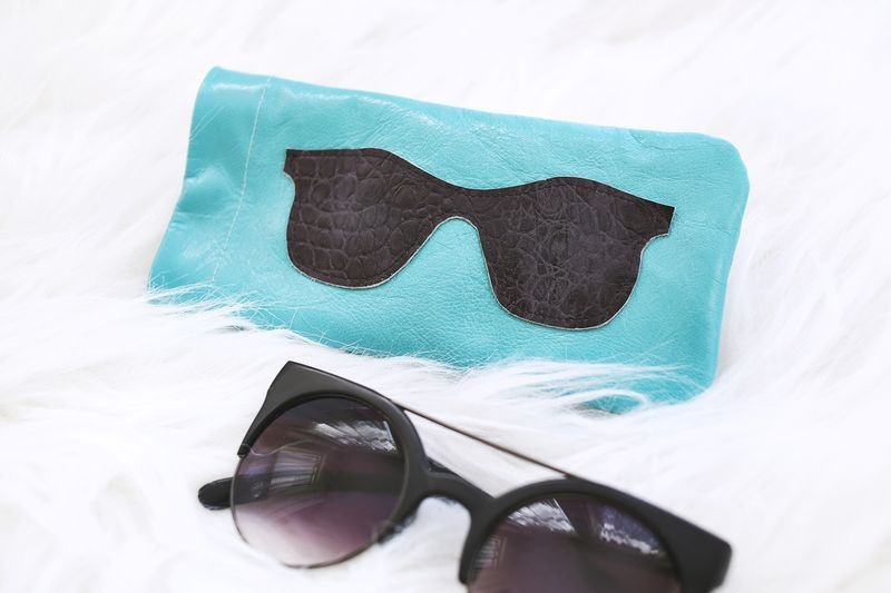 Picture Of stylish diy leather sunglasses holder  4