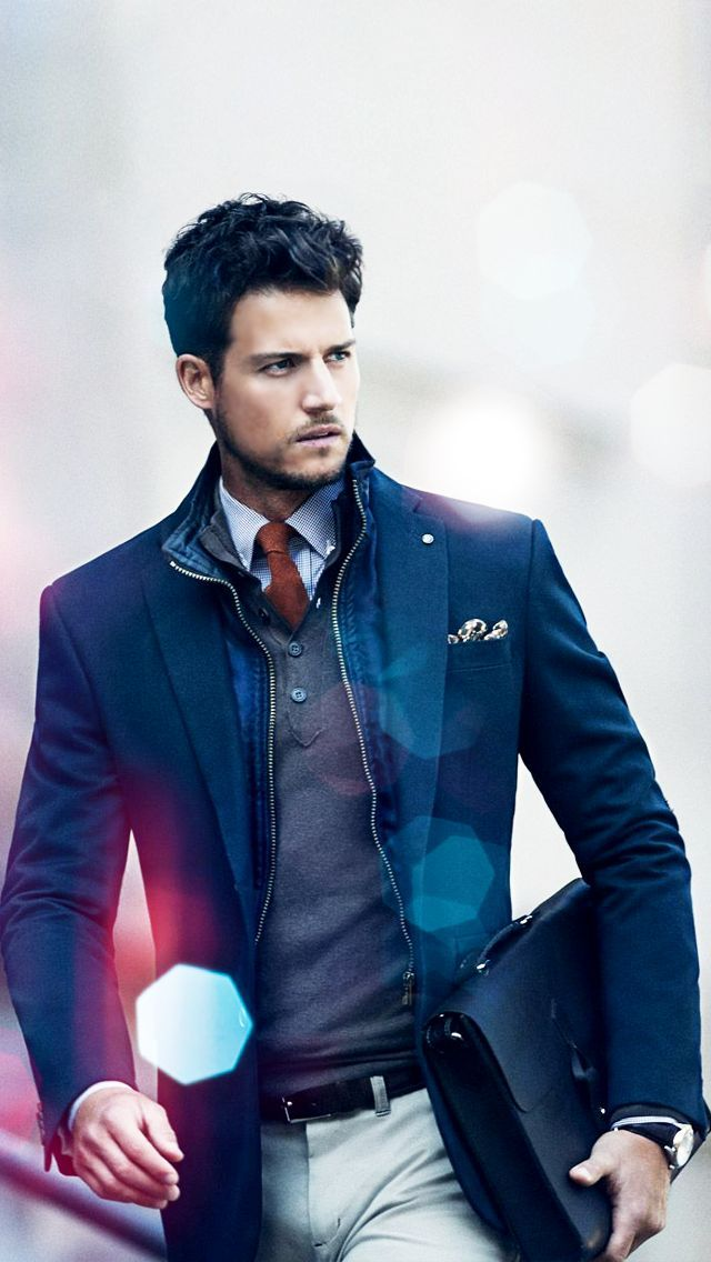 Picture Of stylish fall 2014 men outfits for work  4
