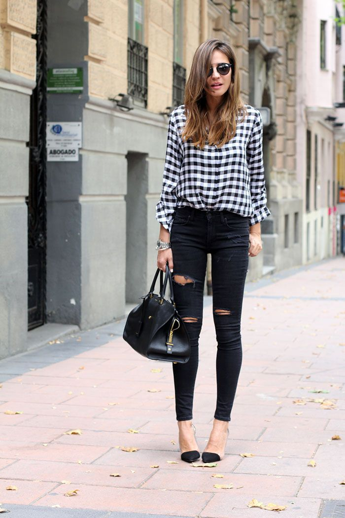 Picture Of stylish gingham outfits  13