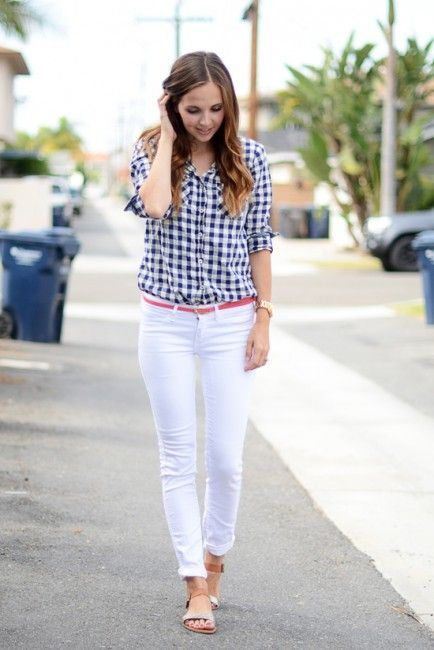 Picture Of stylish gingham outfits  16