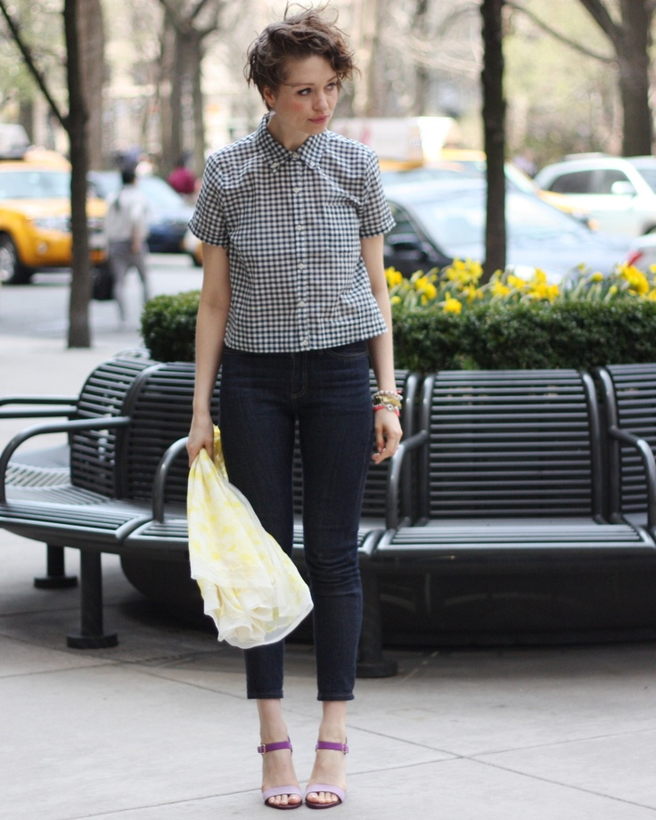 Picture Of stylish gingham outfits  17