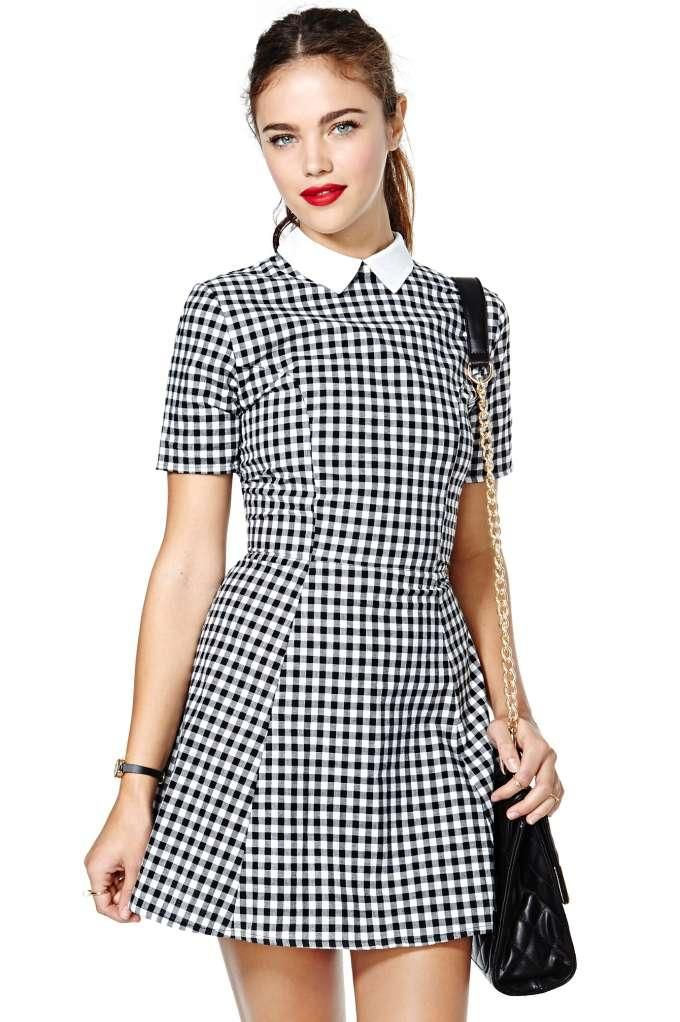 Picture Of stylish gingham outfits  18