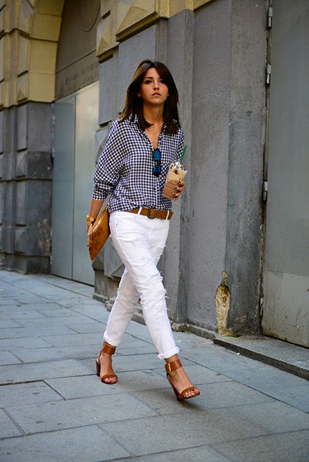 Picture Of stylish gingham outfits  2