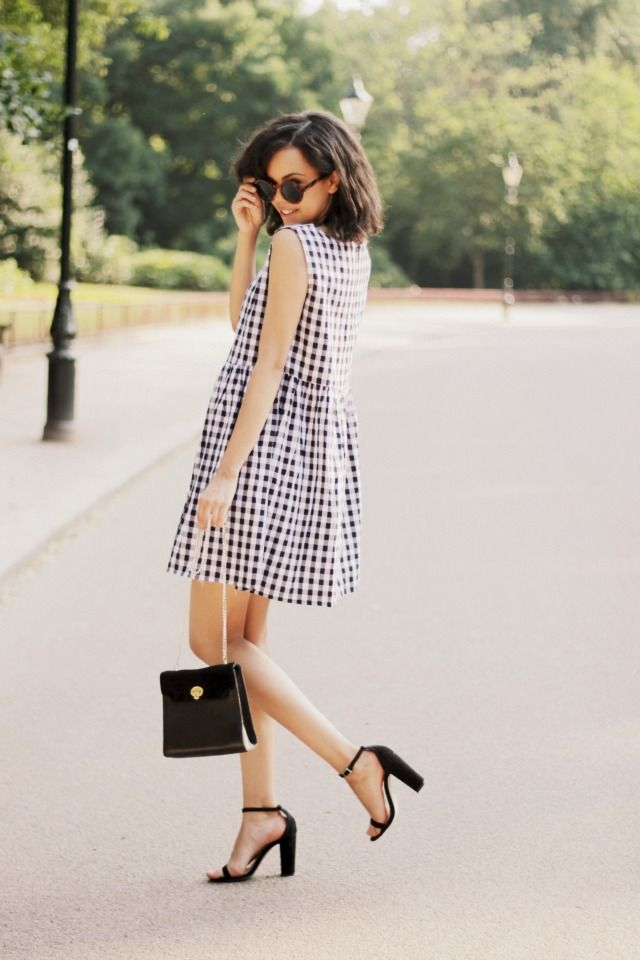 Picture Of stylish gingham outfits  20