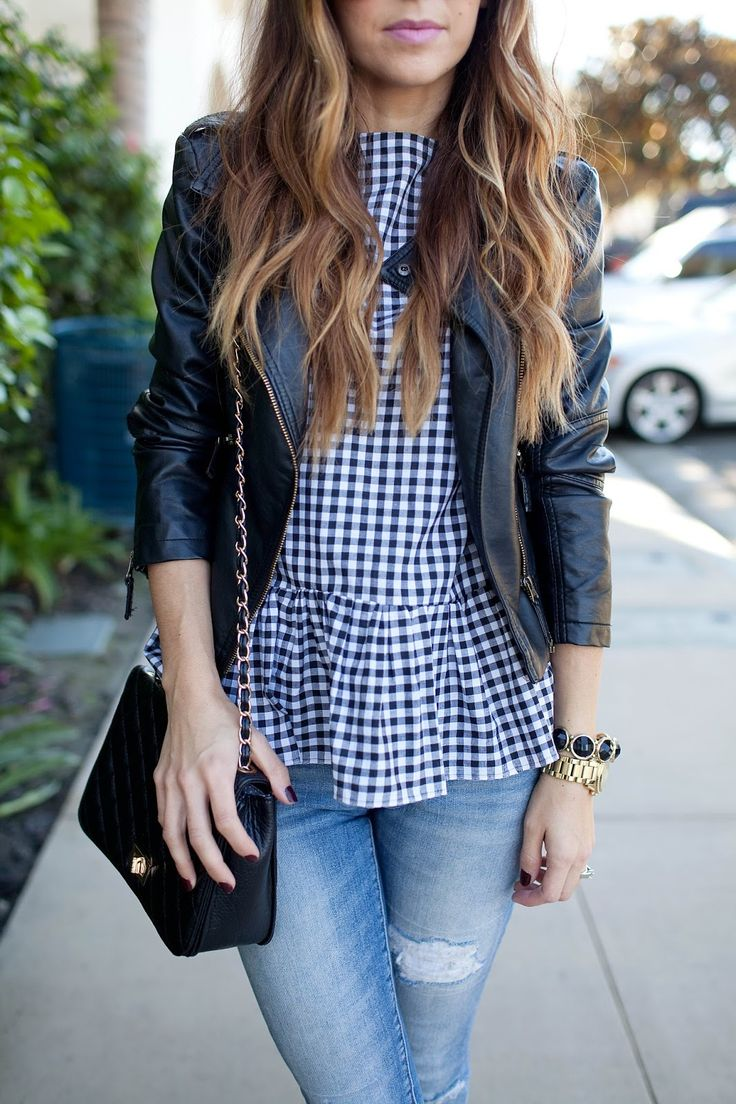 Picture Of stylish gingham outfits  21