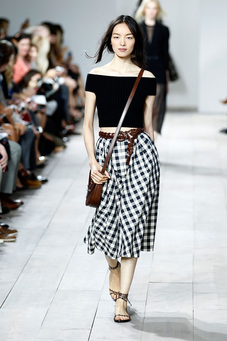 Picture Of stylish gingham outfits  23