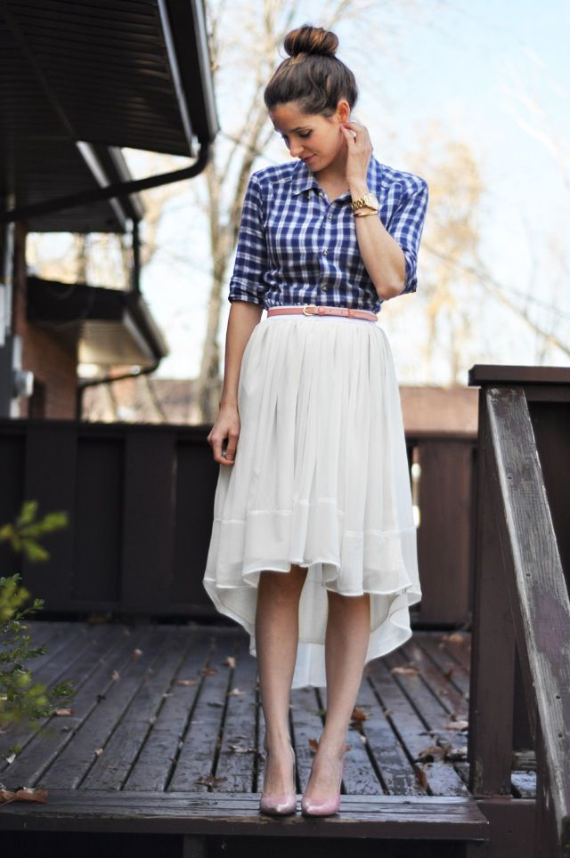 Picture Of stylish gingham outfits  24