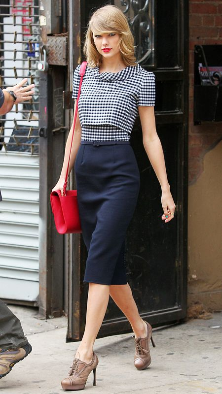 Picture Of stylish gingham outfits  3