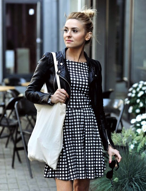 Picture Of stylish gingham outfits  4