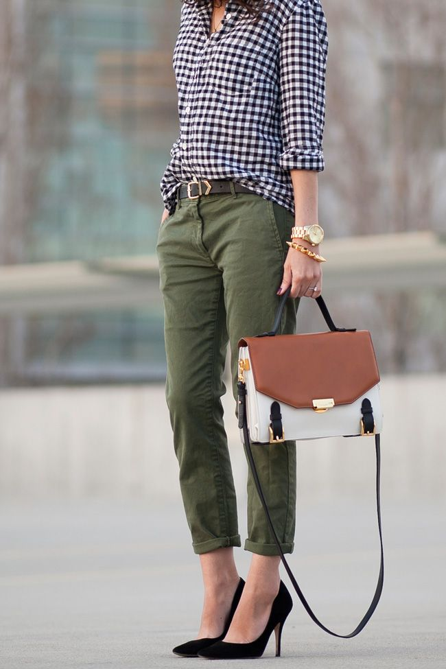 Picture Of stylish gingham outfits  7