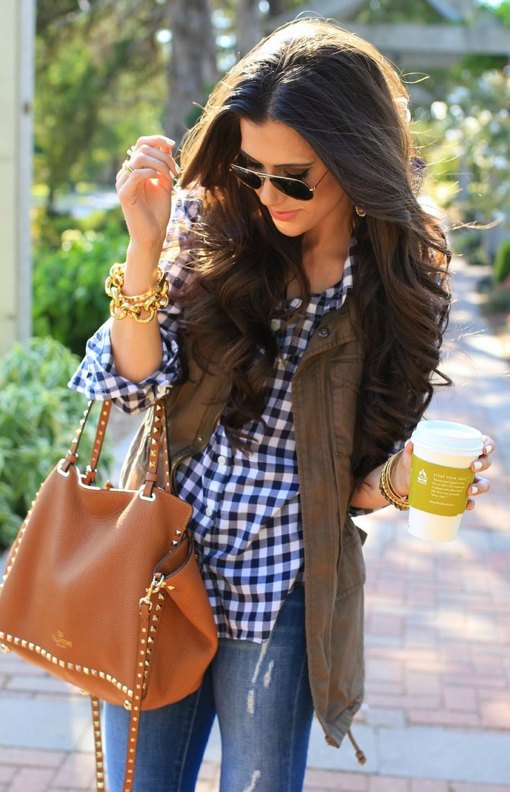 Picture Of stylish gingham outfits  8