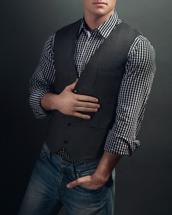 Picture Of stylish men looks with jeans suitable for work  11