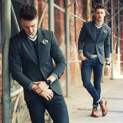 38 Stylish Men Looks W...