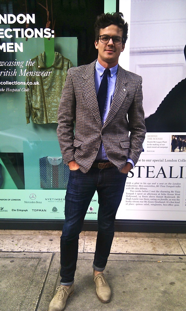 Picture Of stylish men looks with jeans suitable for work  26