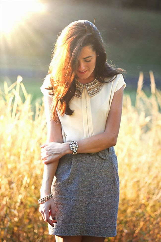 Picture Of stylish spring 2015 work outfits for girls  10