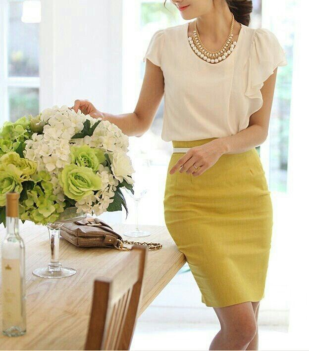 Picture Of stylish spring 2015 work outfits for girls  8