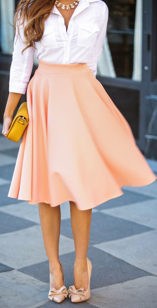 Picture Of stylish spring 2015 work outfits for girls  9