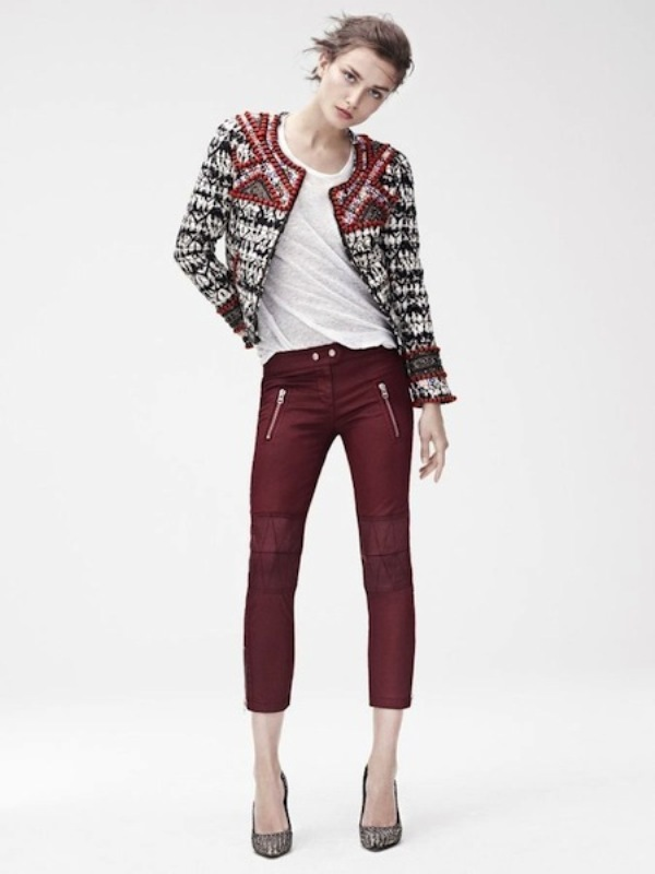 Picture Of stylish the isabel marant for hm upcoming fall collection lookbook  1
