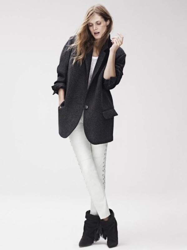 Picture Of stylish the isabel marant for hm upcoming fall collection lookbook  2