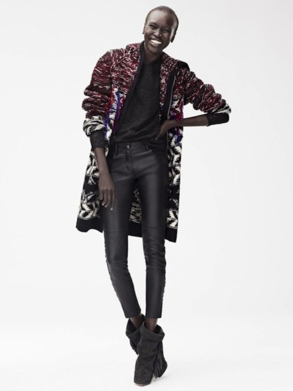 Picture Of stylish the isabel marant for hm upcoming fall collection lookbook  3