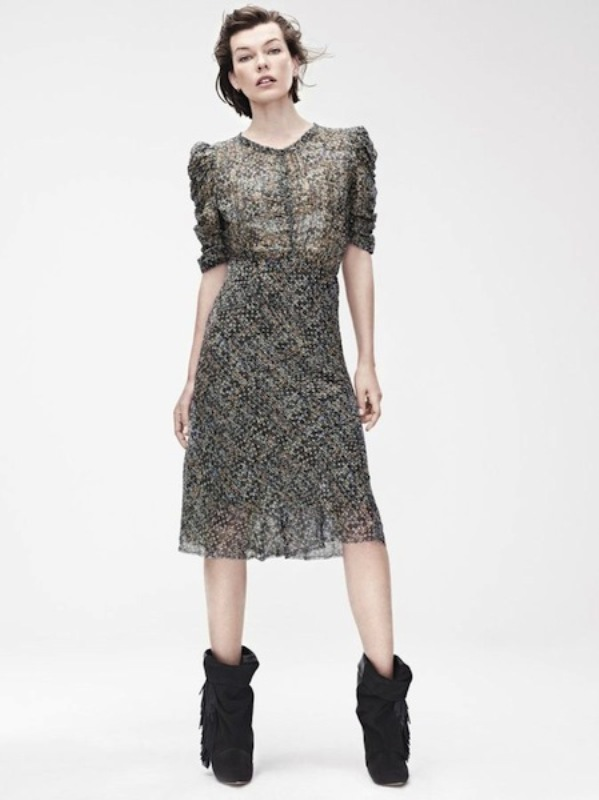 Picture Of stylish the isabel marant for hm upcoming fall collection lookbook  4