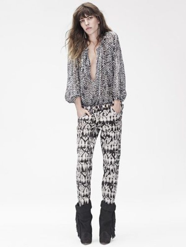 Picture Of stylish the isabel marant for hm upcoming fall collection lookbook  5