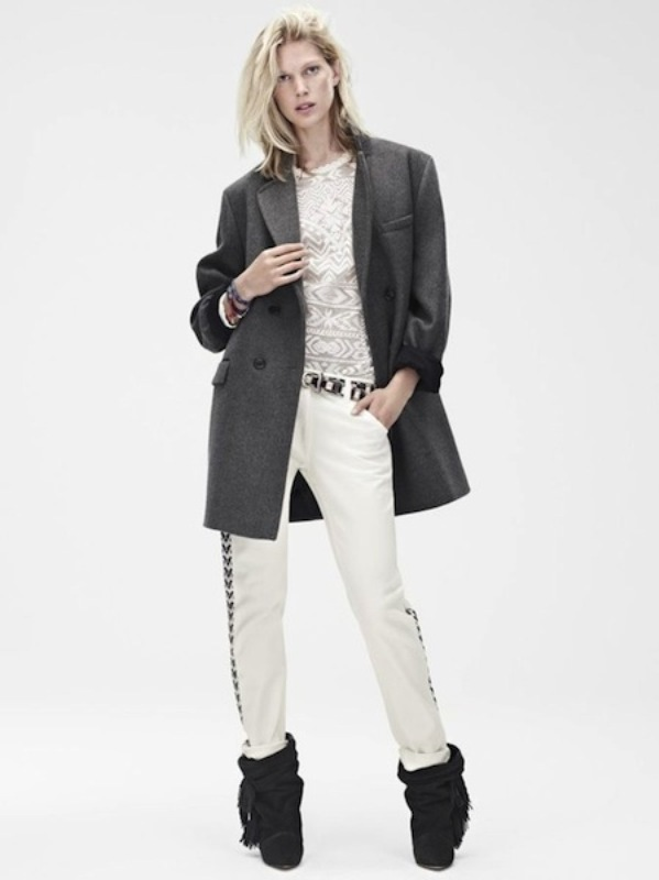 Picture Of stylish the isabel marant for hm upcoming fall collection lookbook  6