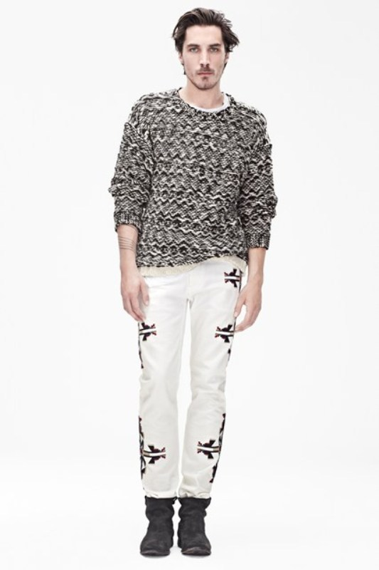 Picture Of stylish the isabel marant for hm upcoming fall collection lookbook  7