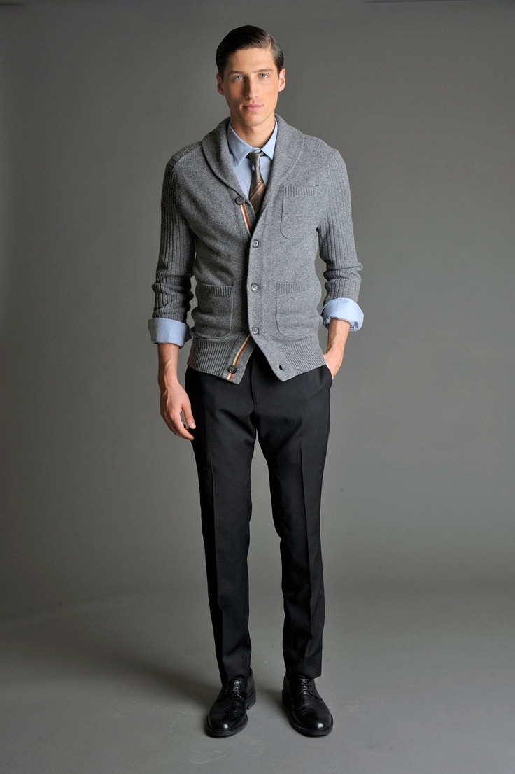 Picture Of stylish winter men outfits for work  6