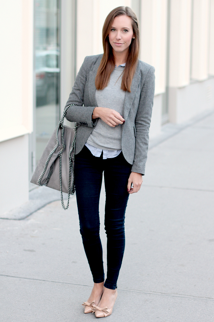 Picture Of stylish women office worthy outfits for winter 2014 2015  1