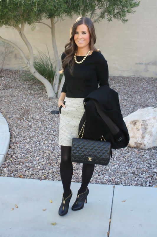 Picture Of stylish women office worthy outfits for winter 2014 2015  2