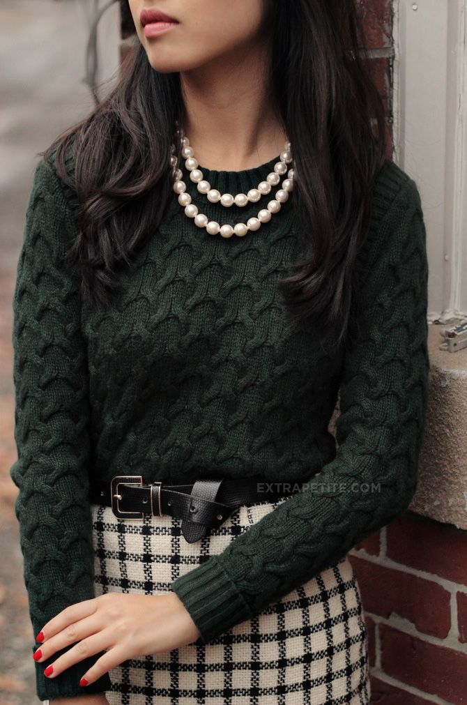 Picture Of stylish women office worthy outfits for winter 2014 2015  6