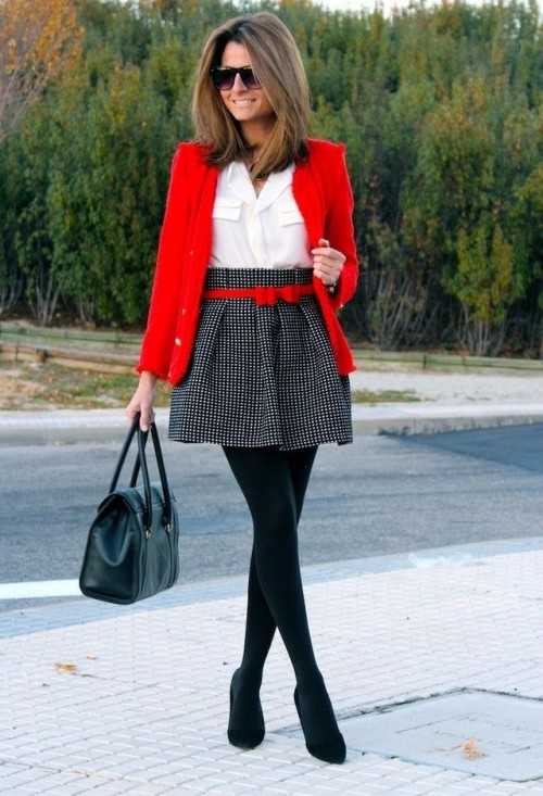 15 Stylish Women Office-Worthy Outfits For Winter 2014-15