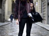 super-chic-short-fur-coat-outfits-to-feel-warm-in-winter-19