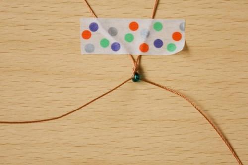 Super Easy And Quick DIY Beaded Diamond Bracelet