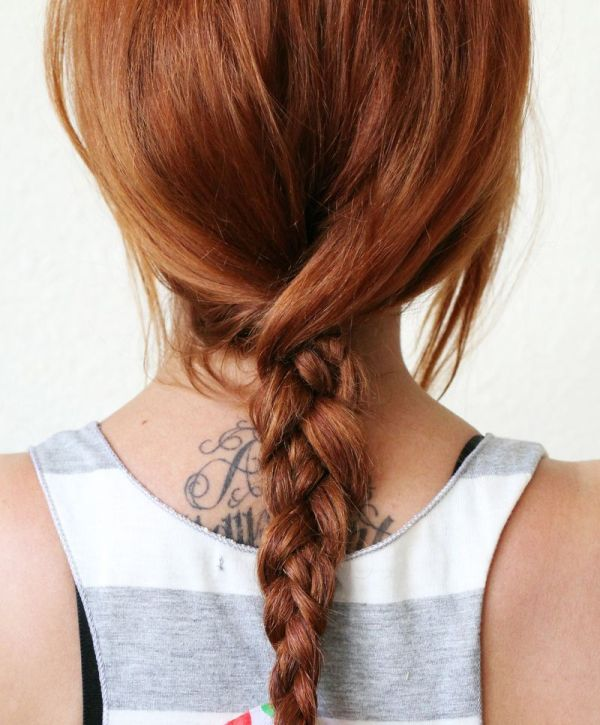 Picture Of super easy diy textured summer braid to make  3