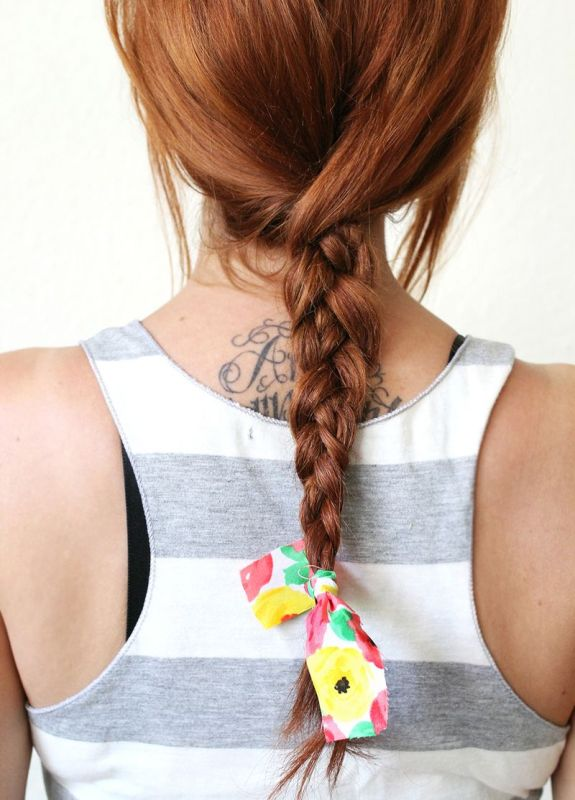 Picture Of super easy diy textured summer braid to make  4