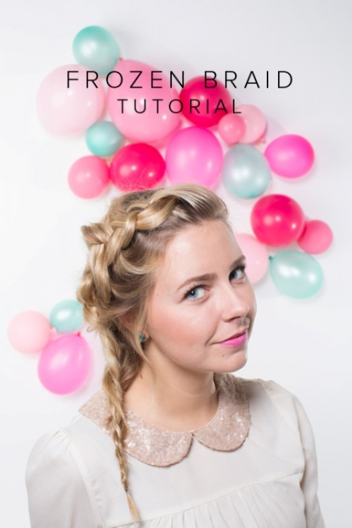 Sweet DIY Frozen-Inspired Braid To Make For Holiday Party