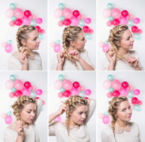Sweet DIY Frozen Inspired Braid To Make For Holiday Party