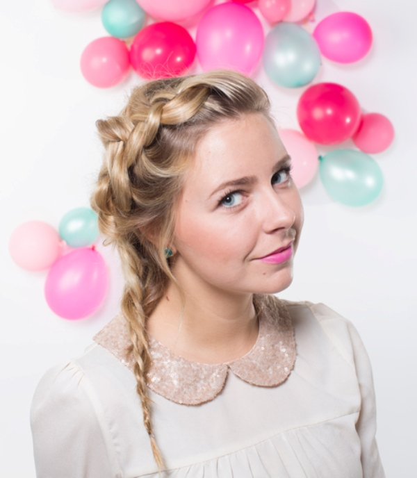 Picture Of sweet diy frozen inspired braid to make for holiday party  4