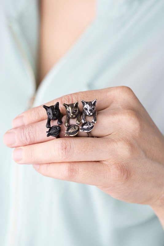 Picture Of the cutest animal rings from yaclkopo  6