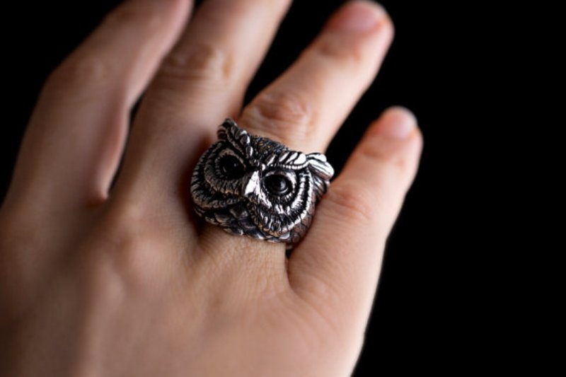 Picture Of the cutest animal rings from yaclkopo  7