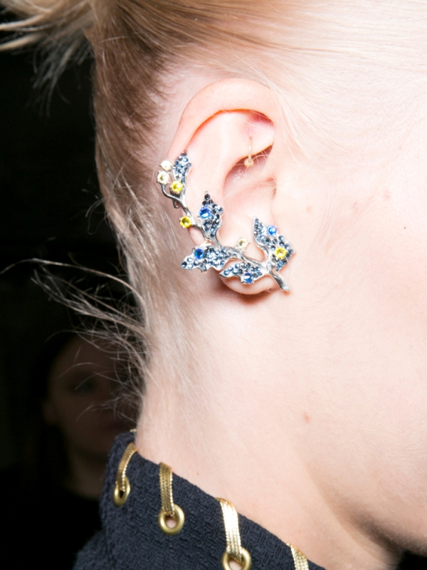 Picture Of the hottest fall trend cuff earrings  7
