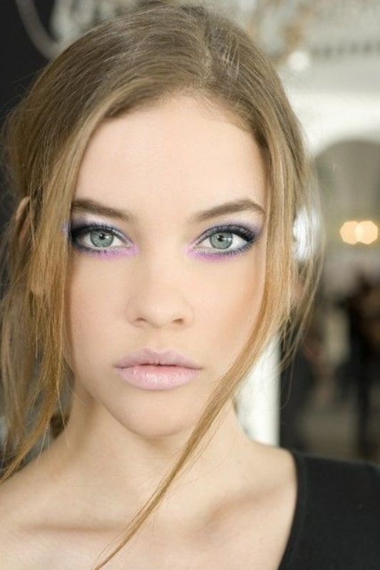 Picture Of the hottest spring and summer trend 10 pastel watercolor makeup ideas  6