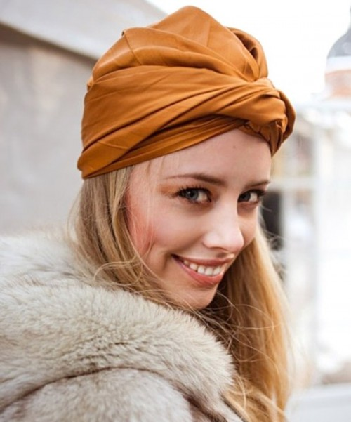 The Turban Fashion Trend Comeback: 15 Stylish Ways To Wear It Now