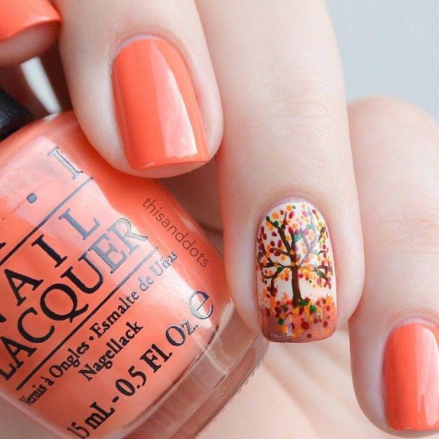 Picture Of trendy and eye catching fall nails ideas  16