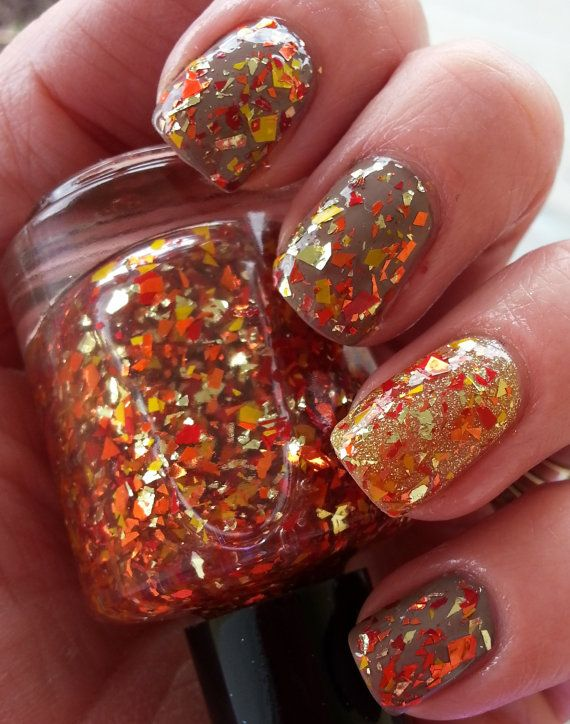 Picture Of trendy and eye catching fall nails ideas  19