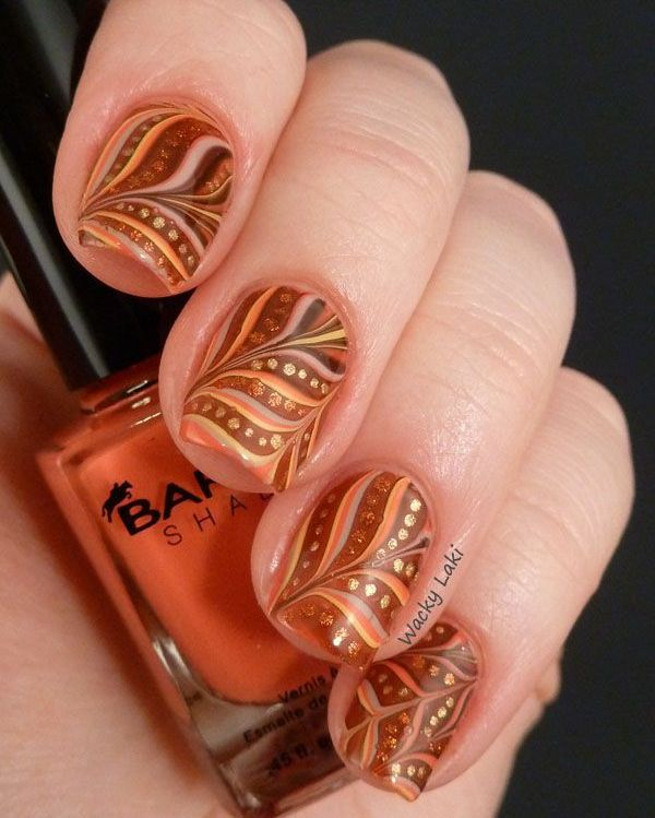 Picture Of trendy and eye catching fall nails ideas  25
